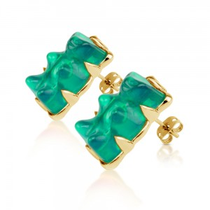 Earring-Green