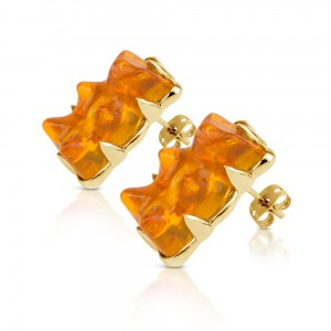Earring-Orange