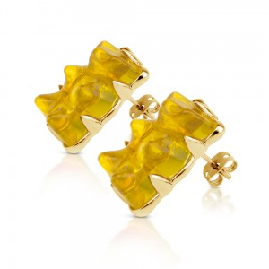 Earring-Yellow
